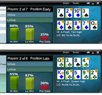 how to play omaha poker hi lo