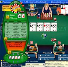 Poker possibilities calculator
