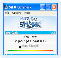 sit and go shark